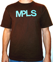 Brown Minneapolis T-Shirts