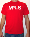 the original MPLS Shirt in RED